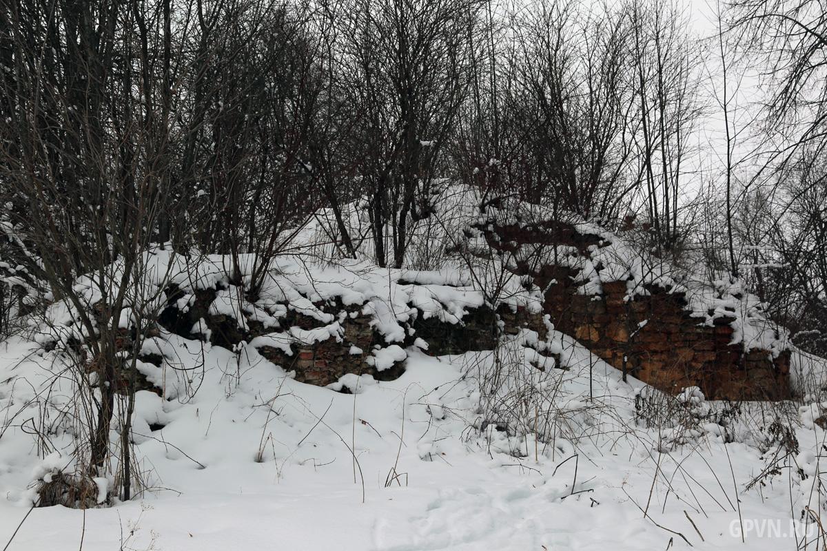 Руины Сковородского монастыря