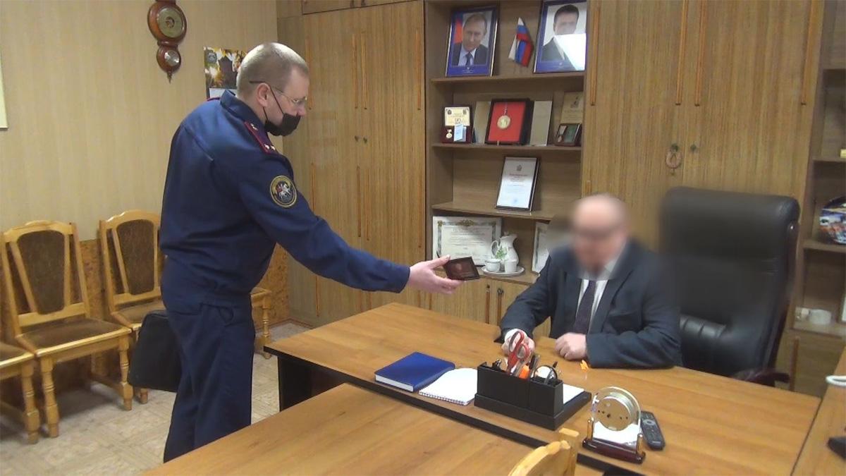 Задержание главы Солецкого района