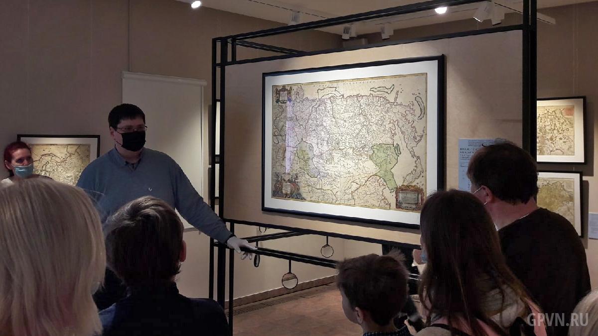 Экскурсия по выставке «Географика Новгорода»