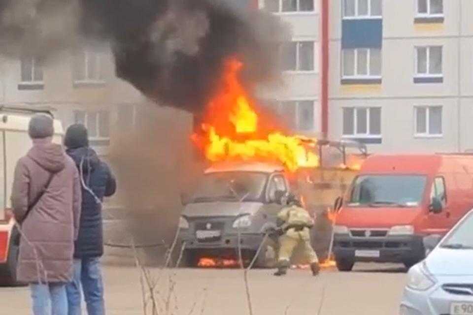 Пожар в «Ивушках»