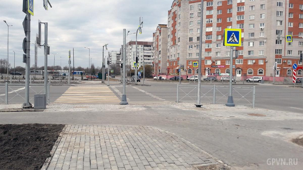 Перекрёсток Псковской и Луговой