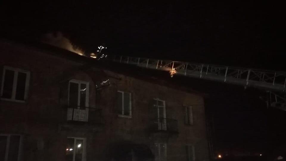 Пожар в Пестово