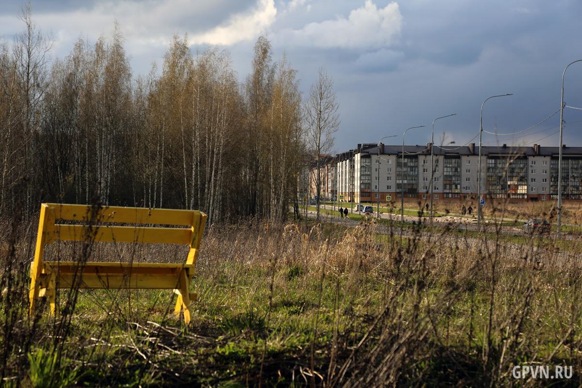 Парк в Псковском районе