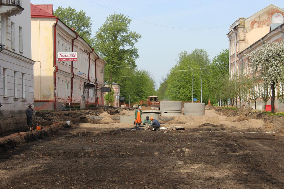 Реконструкция Ильиной улицы