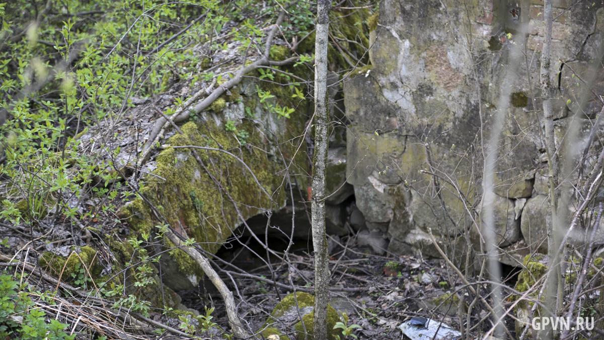 Руины водяной мельницы