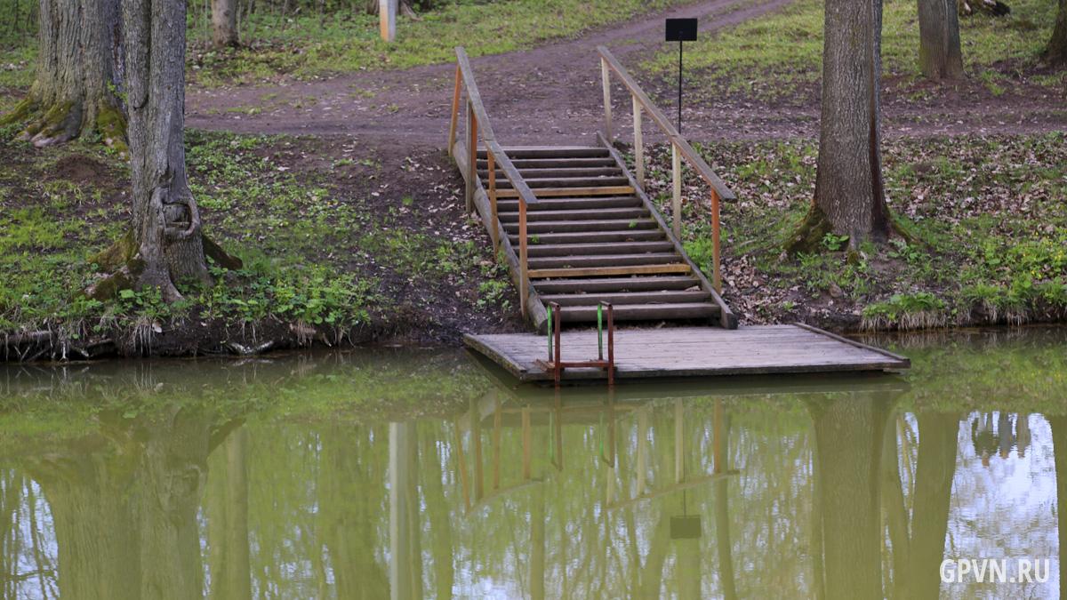 Подход к озеру.