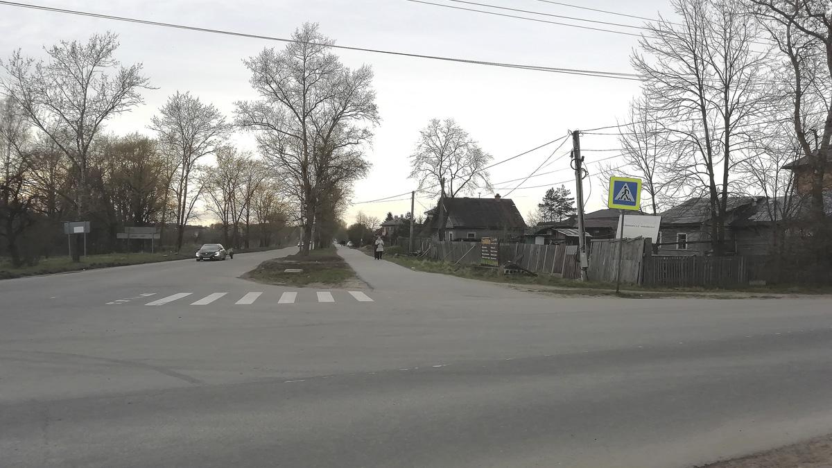 Перекрёсток Троицкой и Орловской