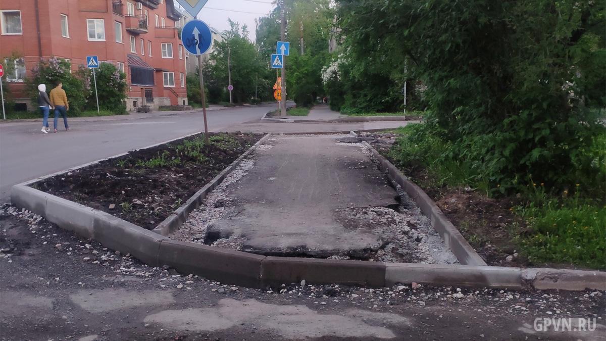 Ремонт на Андреевской улице