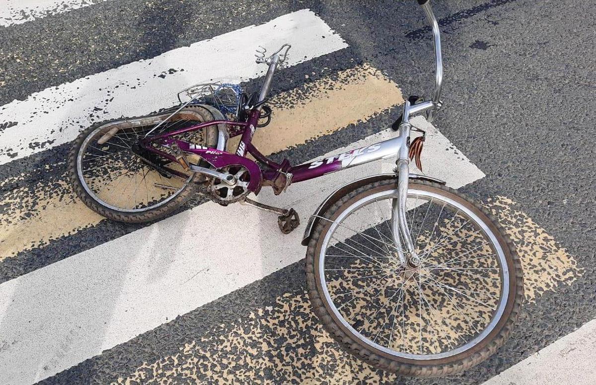 Велосипед погибшей