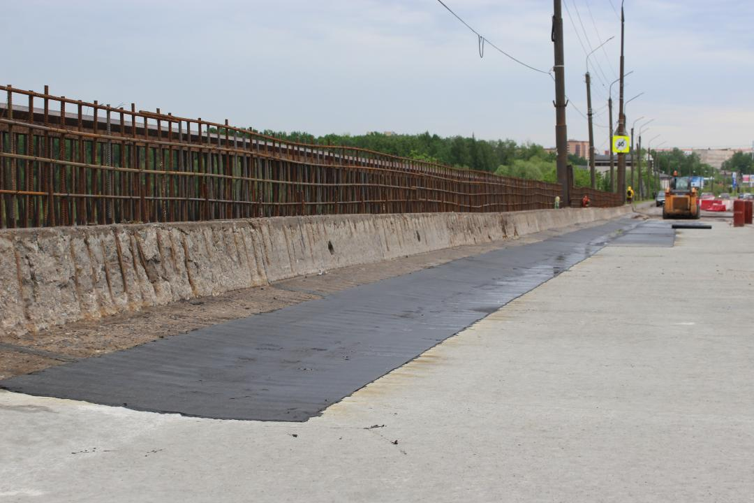 Работы на Колмовском мосту