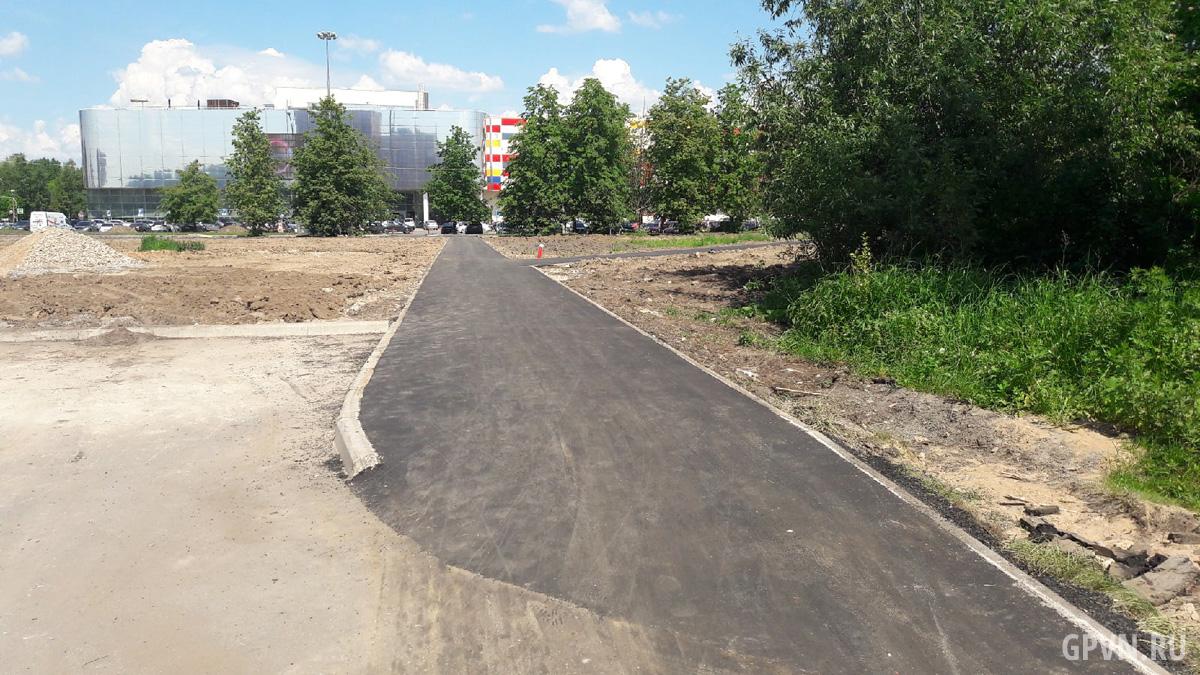 Дорожка от Линейной улицы