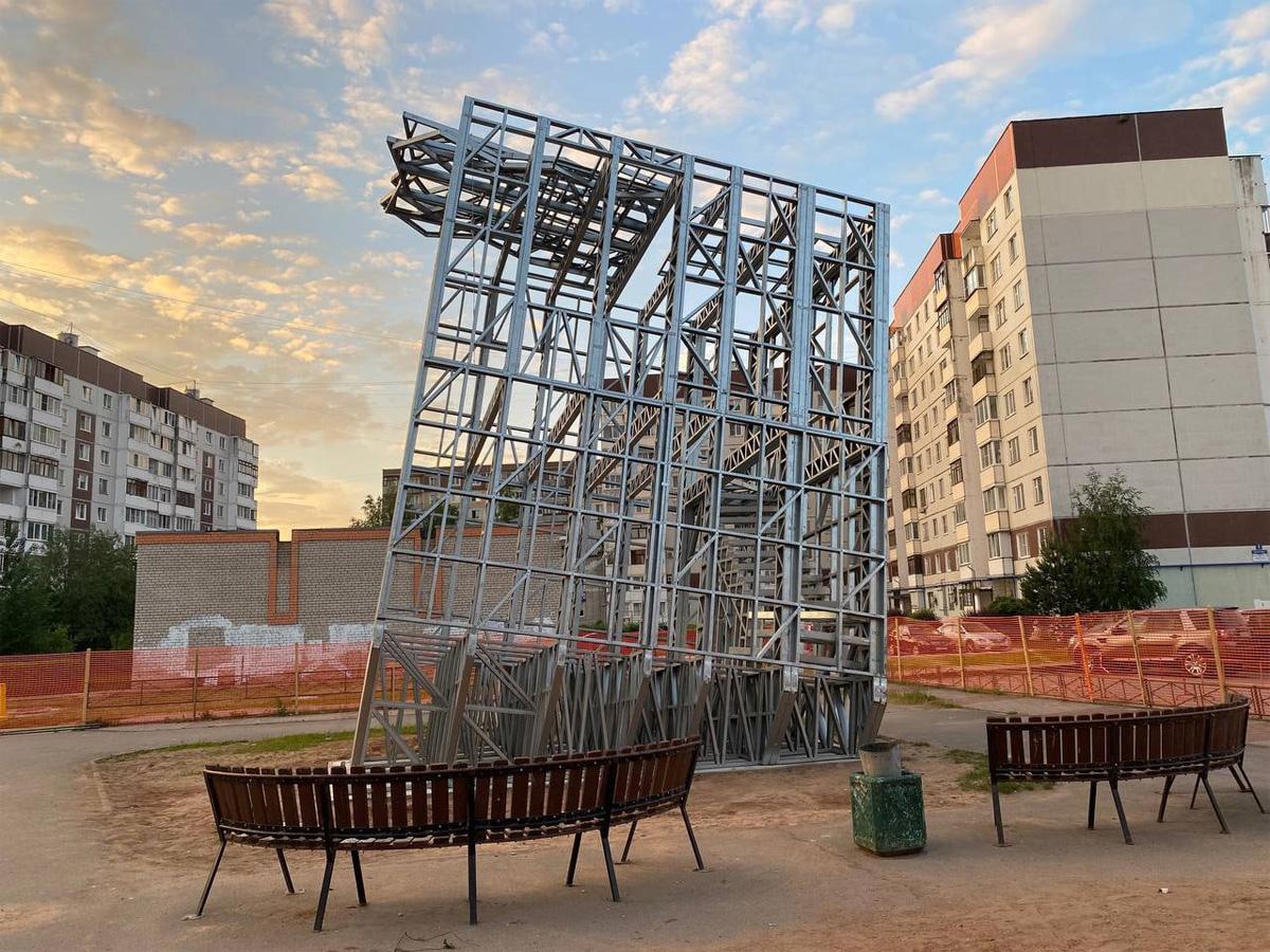 Сооружение на улице Кочетова