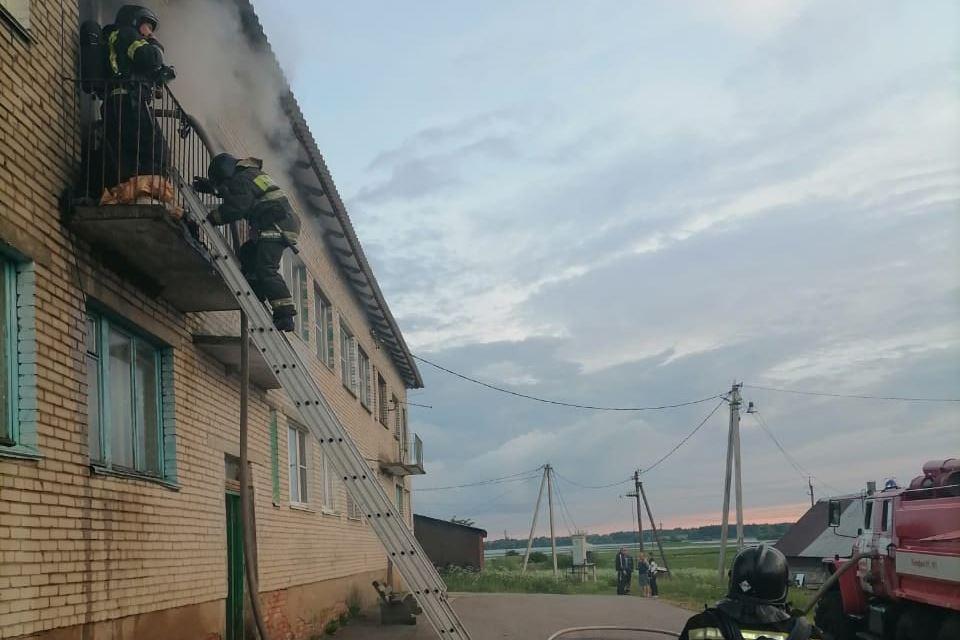 Пожар в Шолохово