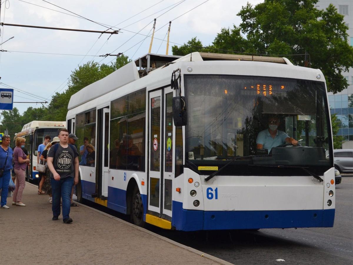 Троллейбусы «Мегаполис»