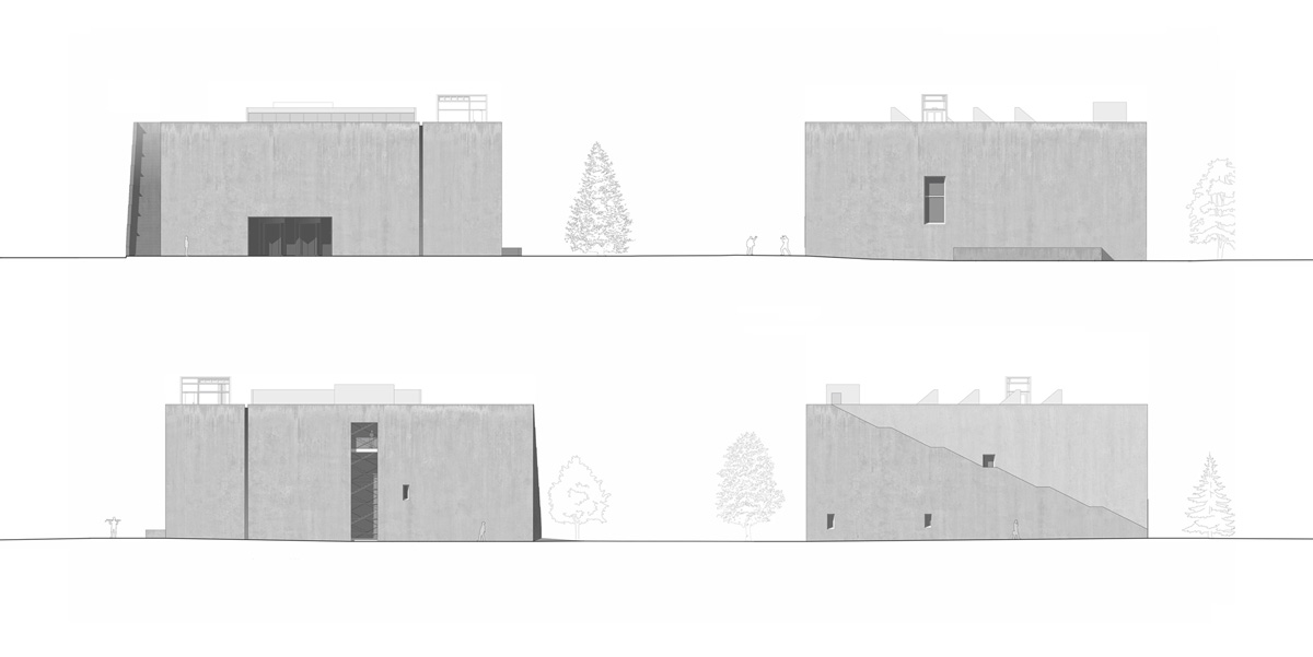 Иллюстрация 7. Фасады музея
