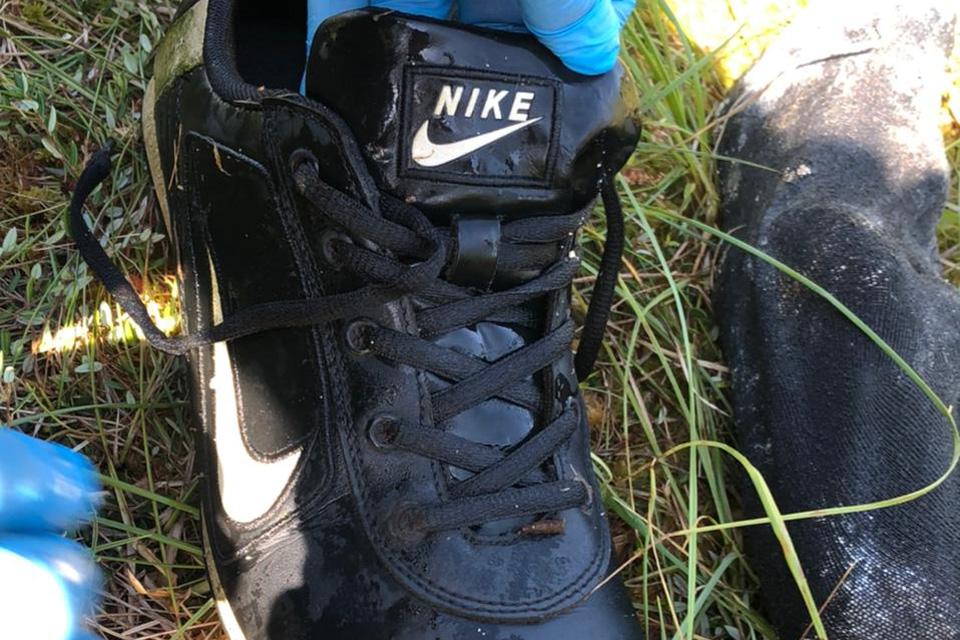 Найденный кроссовок