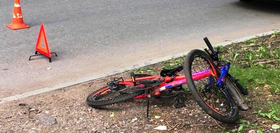 ДТП с велосипедистом