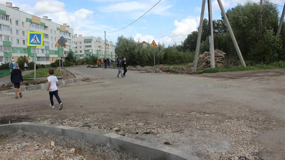 Капремонт Славянской улицы