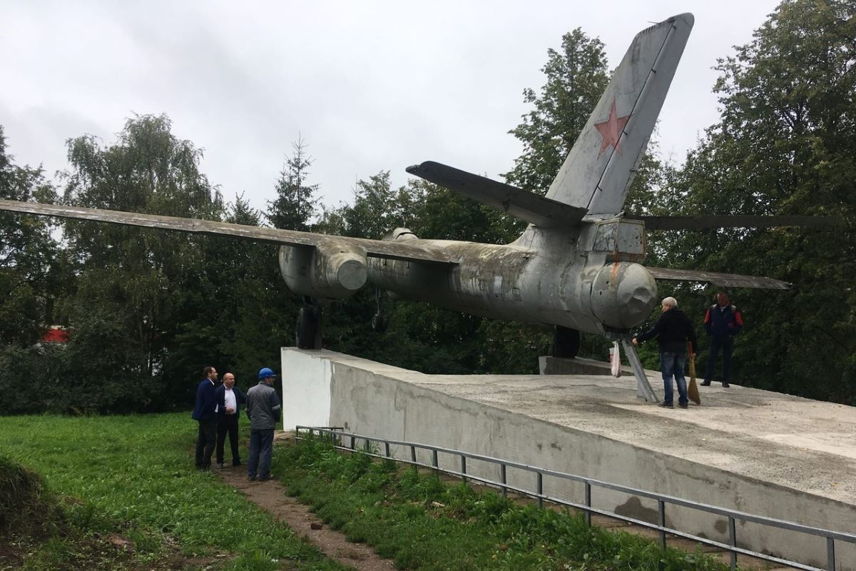 Реставрация Ил-28