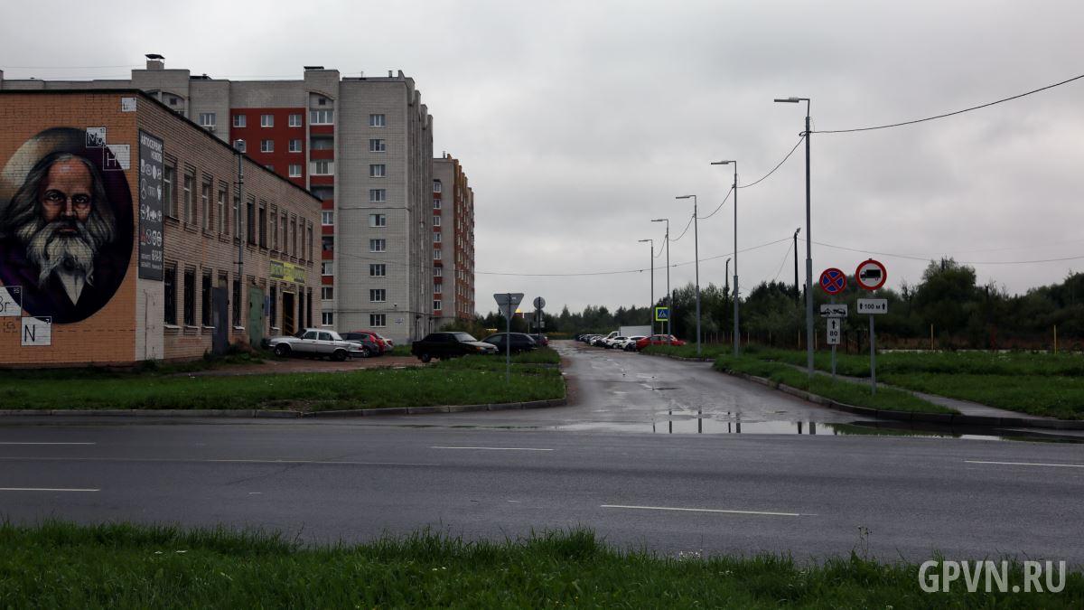 Проезд от улицы Кочетова