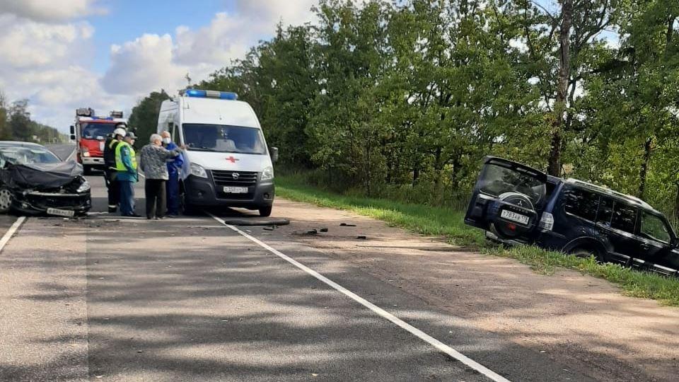 ДТП на Псковском шоссе