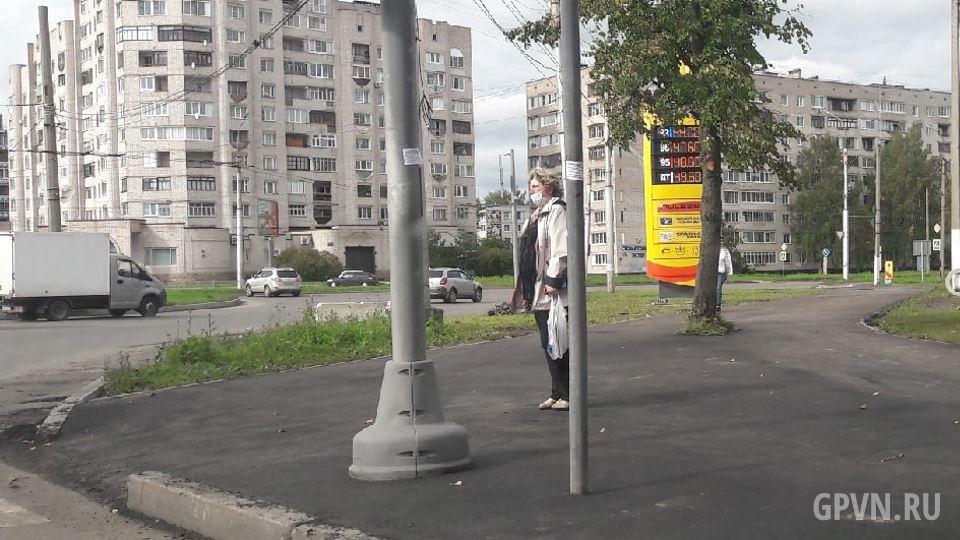 Тротуар на проспекте Мира