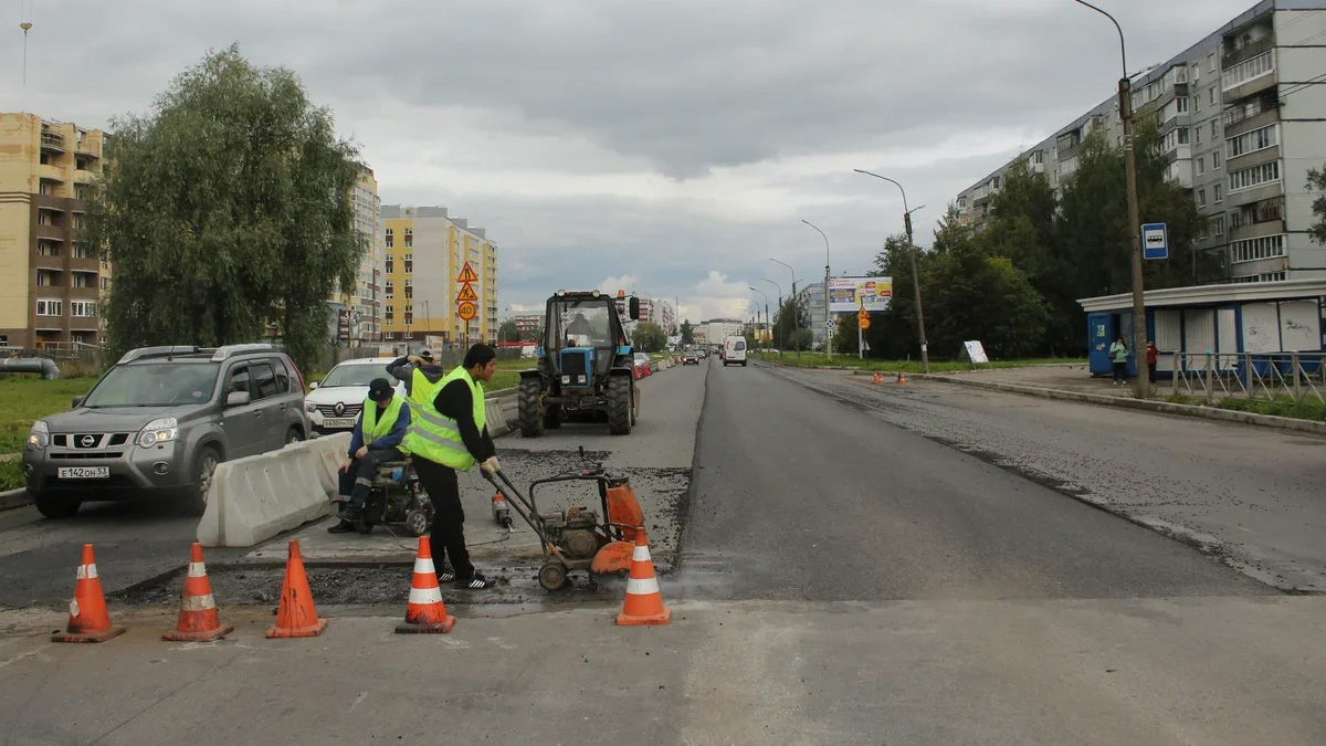 Ремонт улицы Кочетова