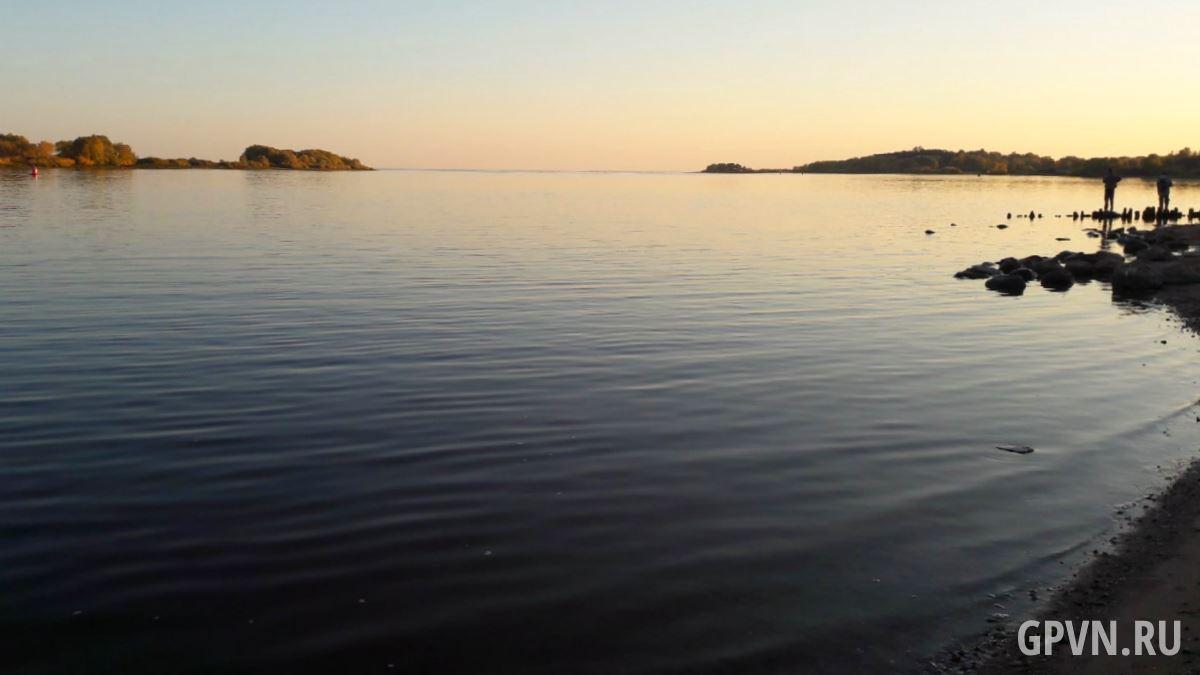 Выход в озеро Ильмень