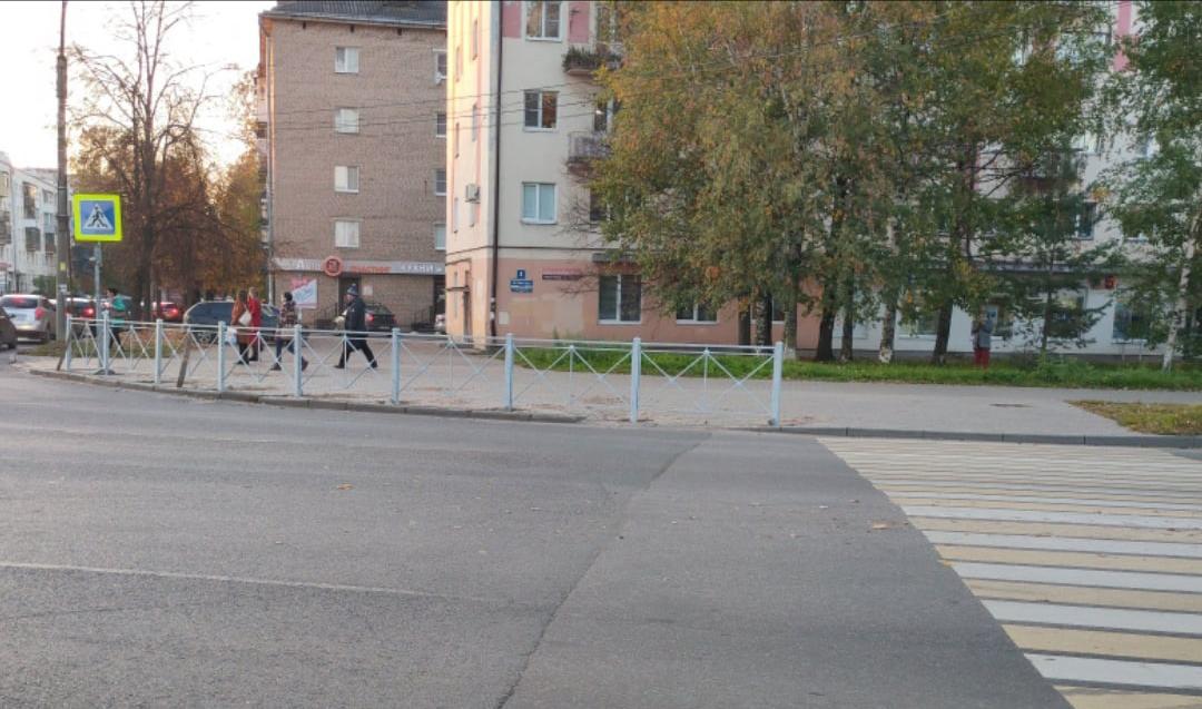 Забор на Псковской