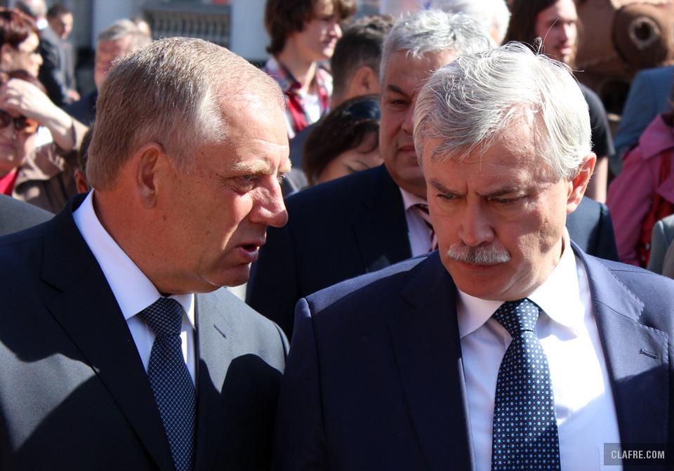 Митин и Полтавченко