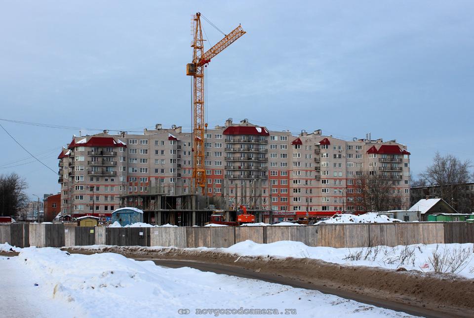 Строительство на Псковской улице