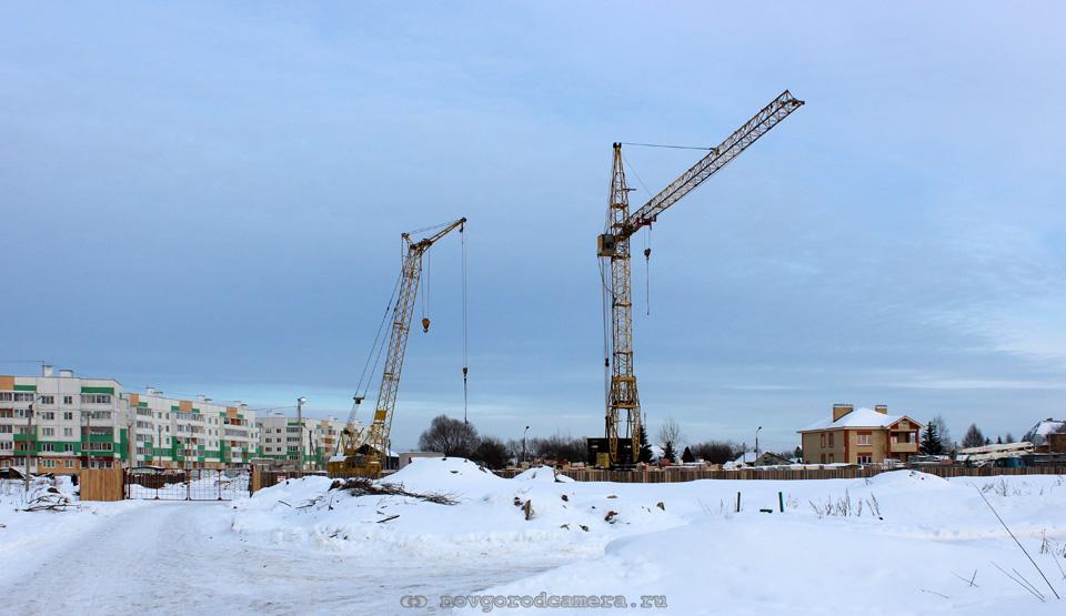 Строительство на Шелонской