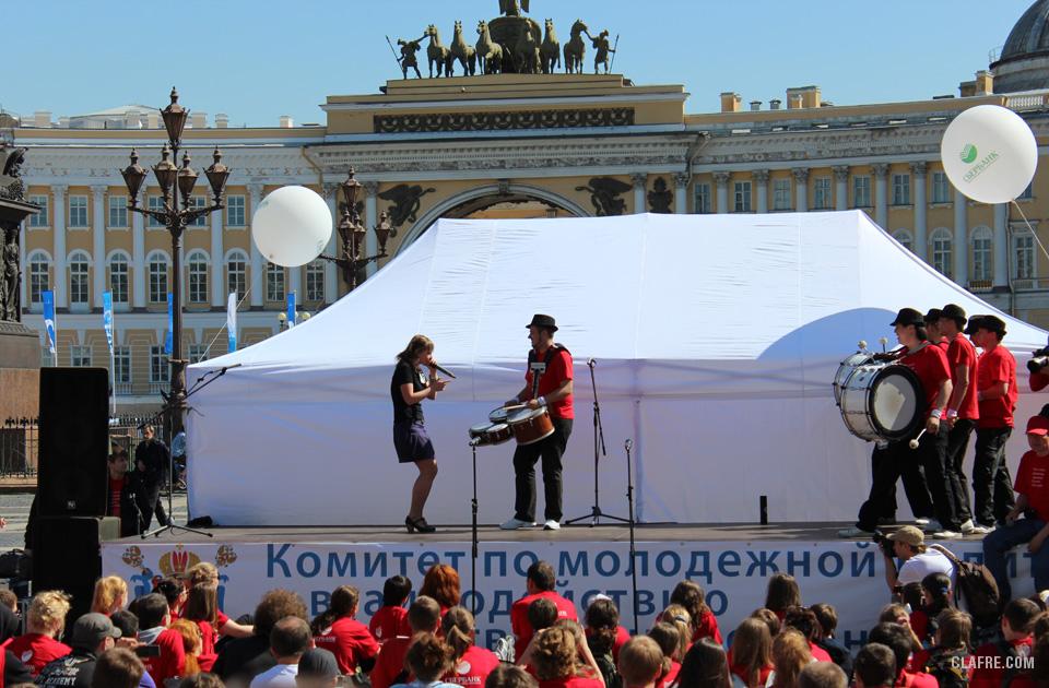 Концертная программа на Дворцовой площади