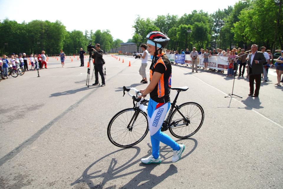 Велосипед Марии Новолодской