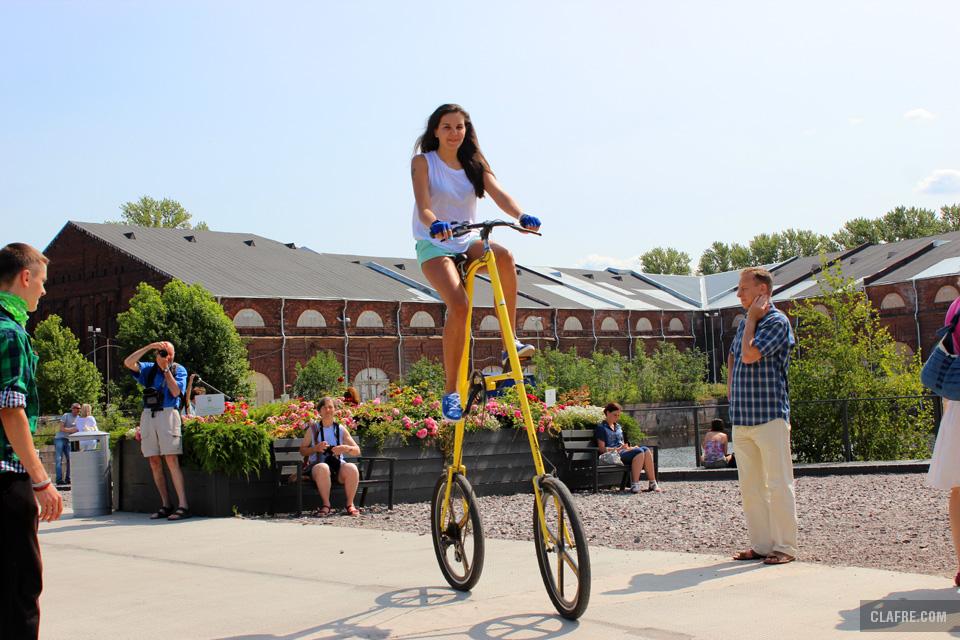 Оригинальный велосипед