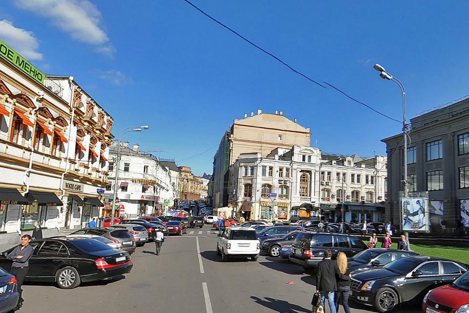 Улица Кузнецкий мост до реконструкции