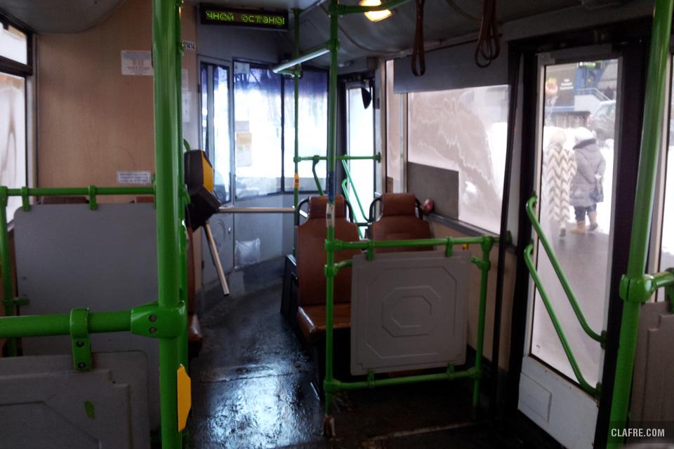 Турникеты в общественном транспорте