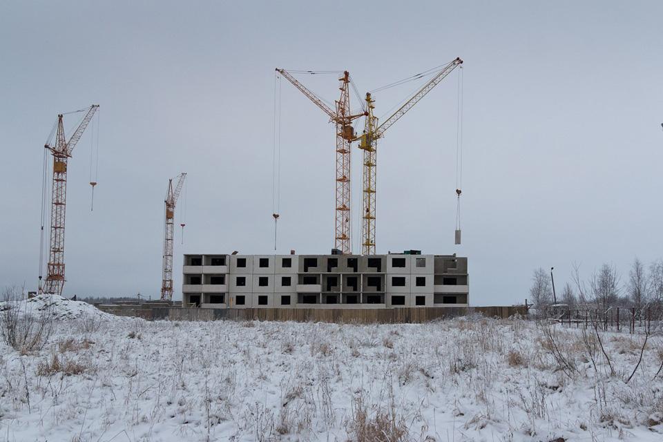 Строительство жилого дома в Ивушках