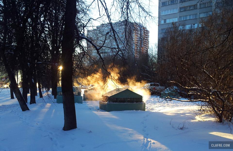 Вентиляция метрополитена на Ленинском проспекте