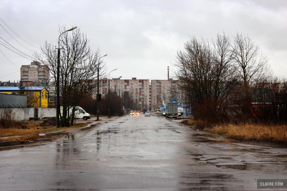 Улица Радищева с Рабочей улицы