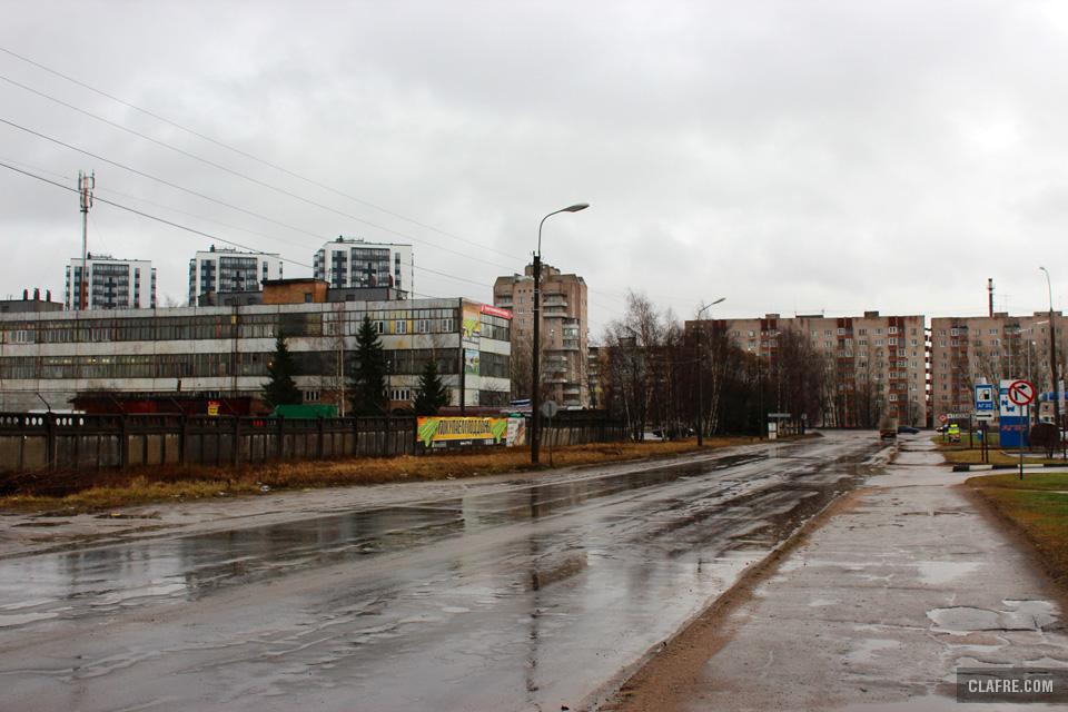 Проезжая часть улицы Радищева