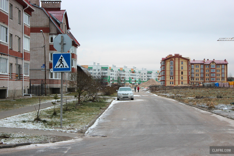 Псковская Слобода с Белорусской улицы