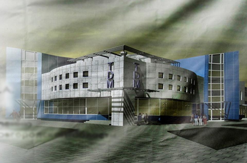 Визуализация торгового дома на Сенной улице