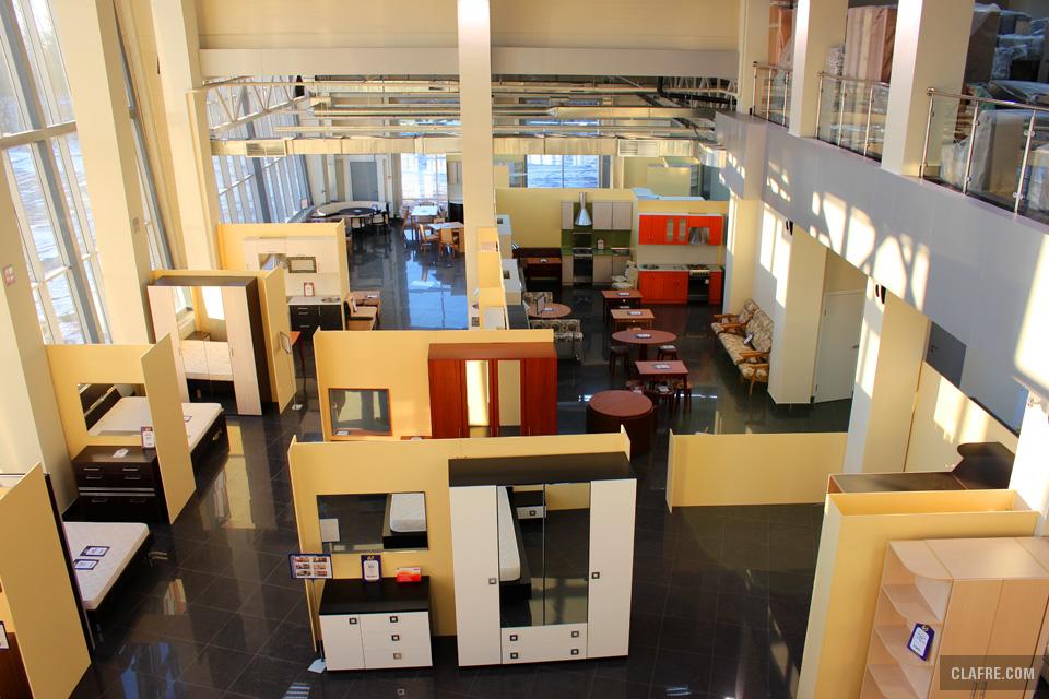 Зал торгового центра Элегия
