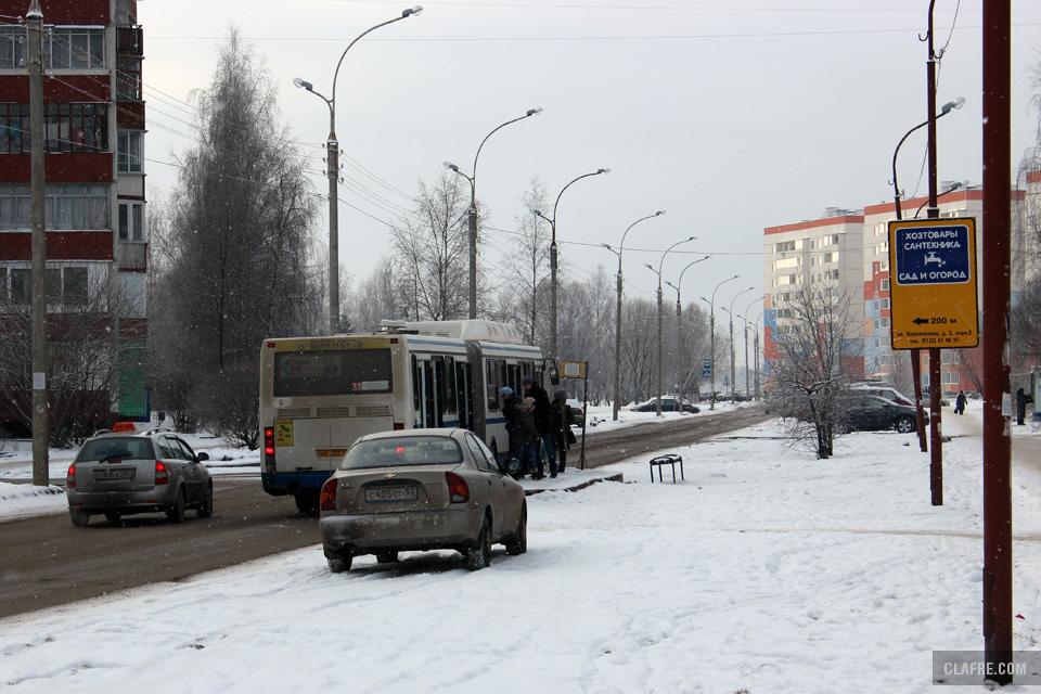 Автобус 33 маршрута