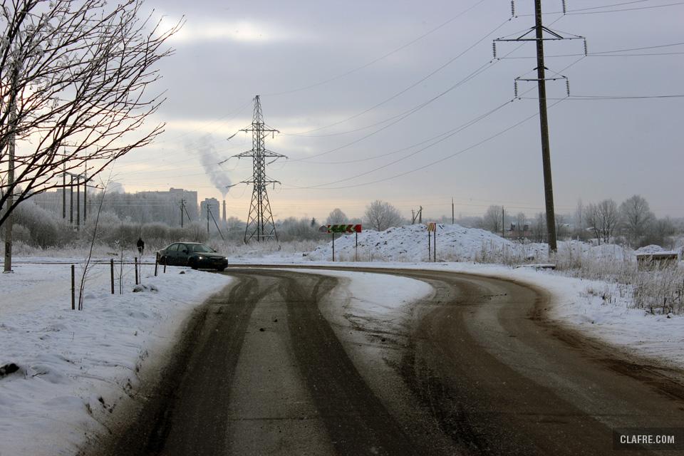 Выезд на улицу Зелинского